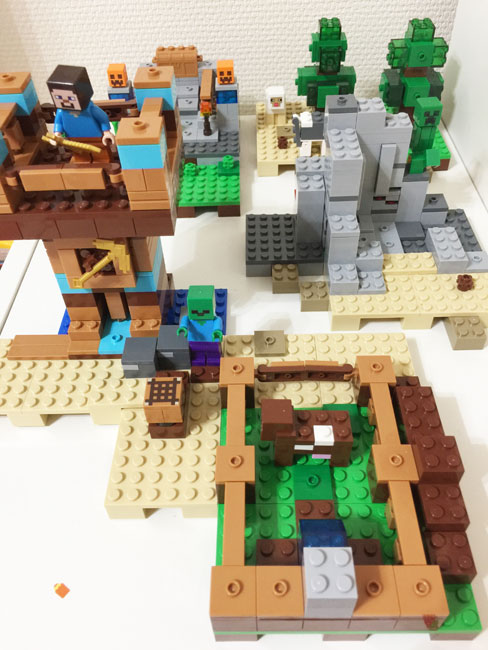 マイクラのレゴ