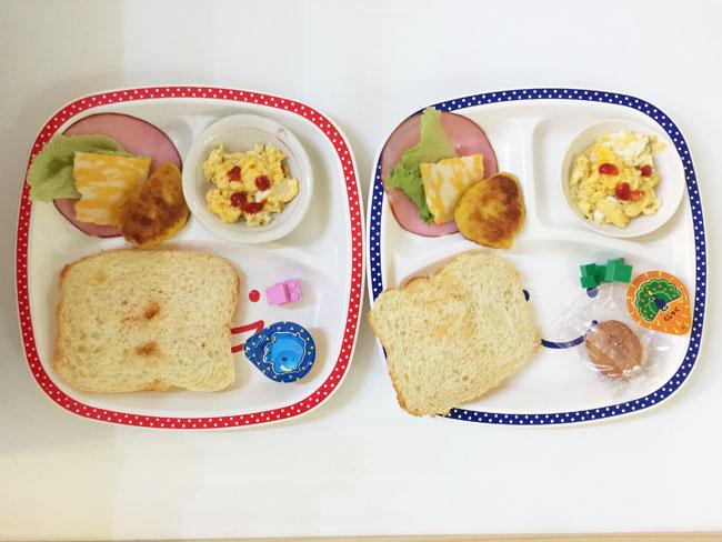 4月23日の子供の朝ご飯