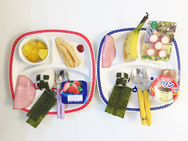 4月24日の子供の朝ご飯