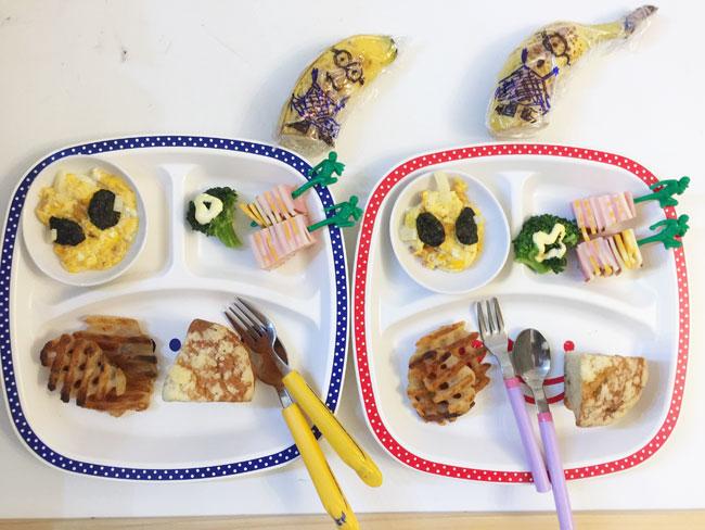 4月25日の子供の朝ご飯