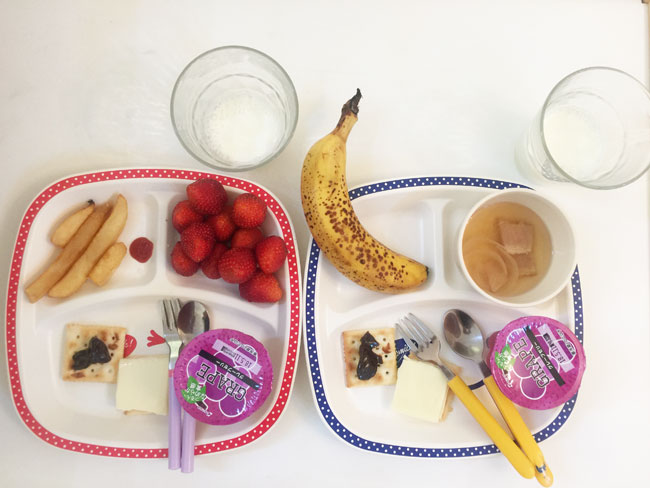 5月1日の子供の朝ご飯