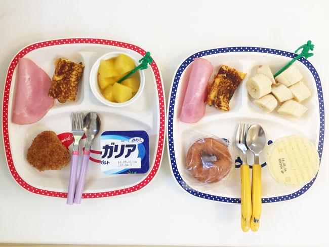 5月2日の子供の朝ご飯