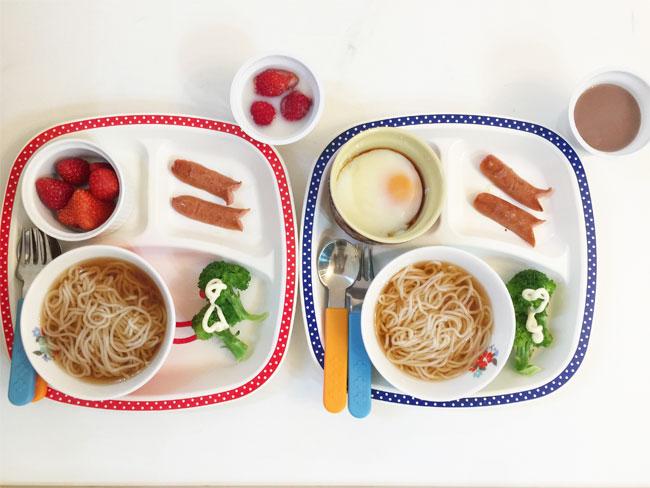 5月7日の子供の朝ご飯