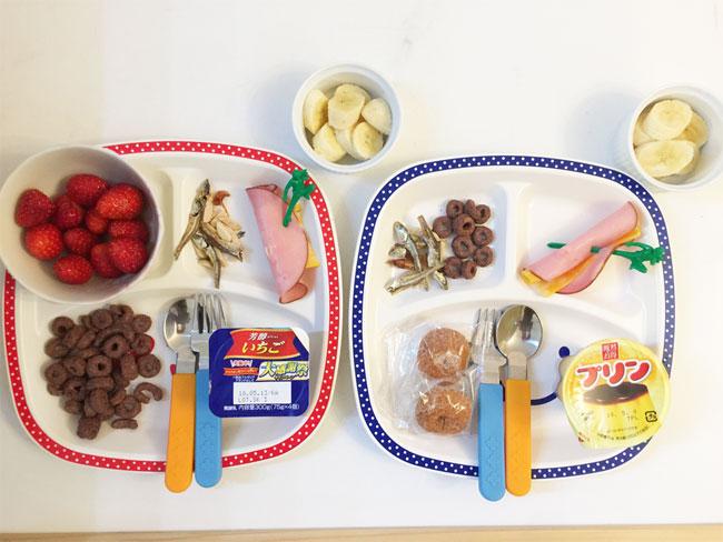 5月8日の子供の朝ご飯