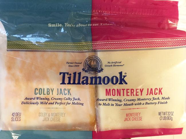 ティラムックのチーズ