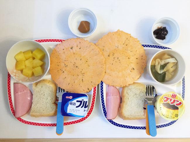 5月9日の子供の朝ご飯