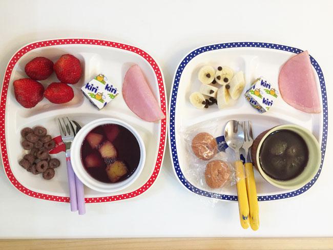 5月18日の子供の朝ご飯