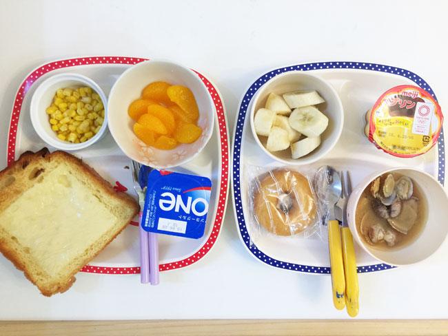 6月11日の子供の朝ご飯