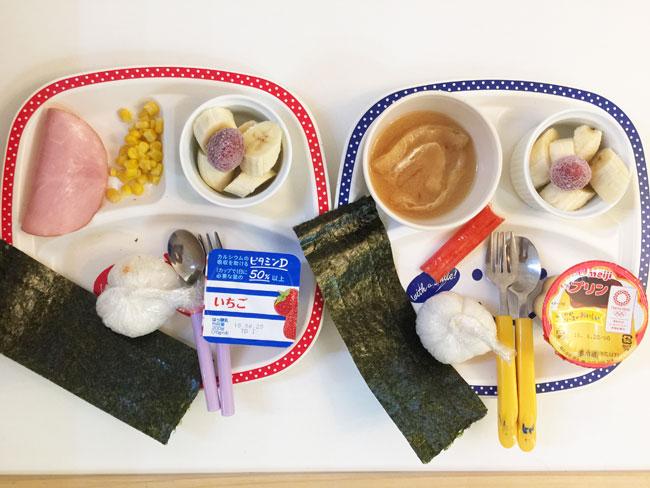 6月18日の子供の朝ご飯