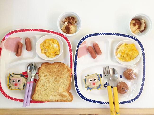 6月5日の子供の朝ご飯