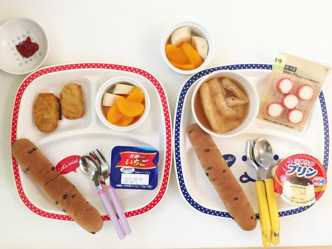 7月2日の子供の朝ご飯