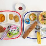 7月4日の子供の朝ご飯