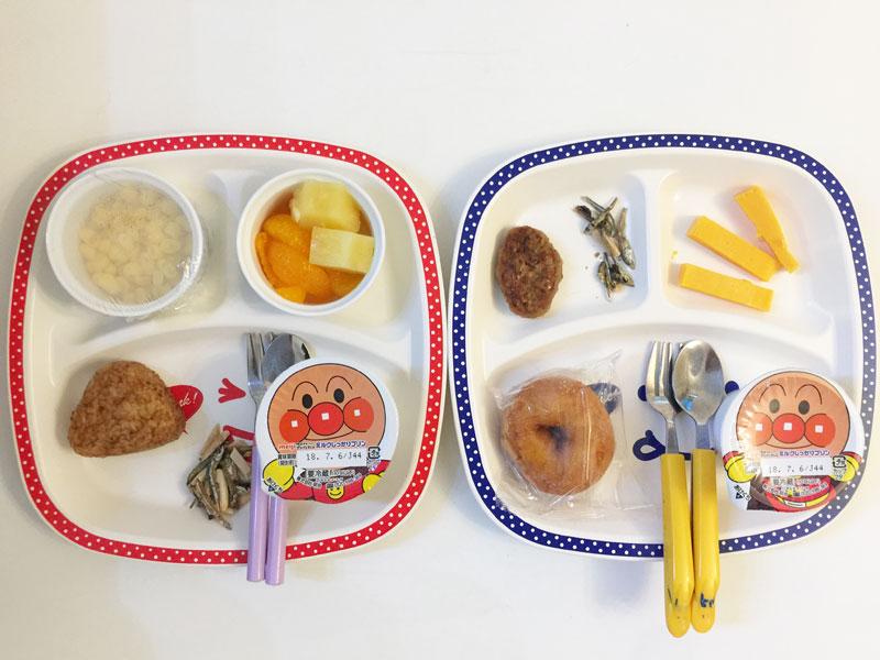 7月6日の子供の朝ご飯