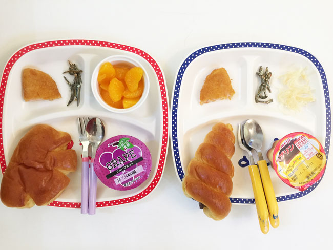 7月11日の子供の朝ご飯