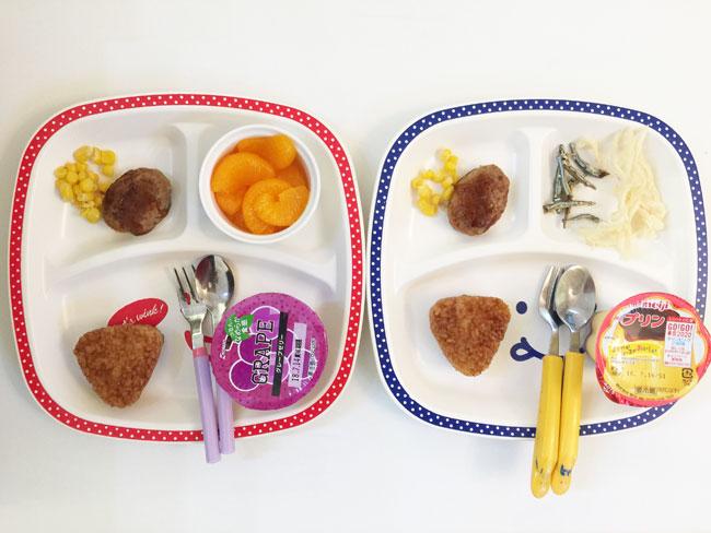 7月13日の子供の朝ご飯