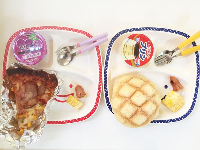 7月19日の子供の朝ご飯