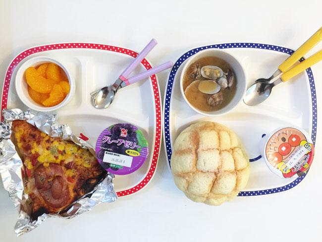 9月7日の子供の朝ご飯