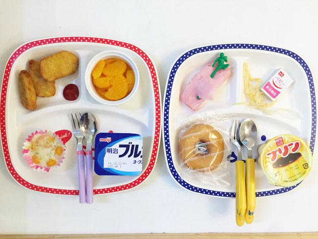 10月15日の子供の朝ご飯