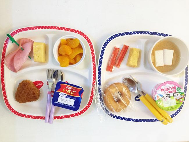 10月16日の子供の朝ご飯