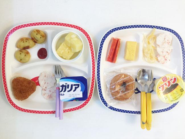 10月17日の子供の朝ご飯