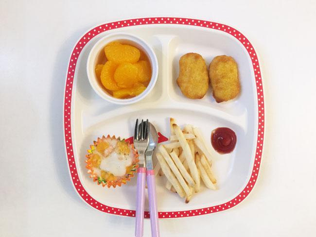 2019年1月9日(水)の子供の朝ご飯