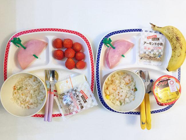2019年1月24日(木)の子供の朝ご飯