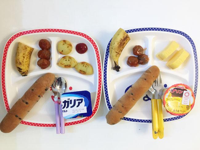2019年1月25日(金)の子供の朝ご飯