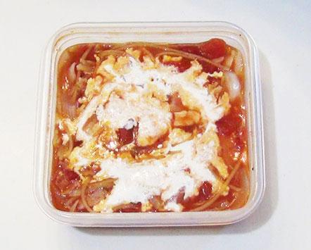 トマトクリームパスタの作り方3
