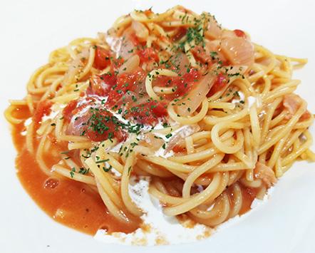 トマトクリームパスタの作り方4